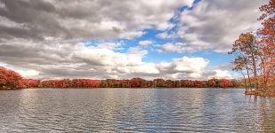 Autumn Horizon in Mid-November