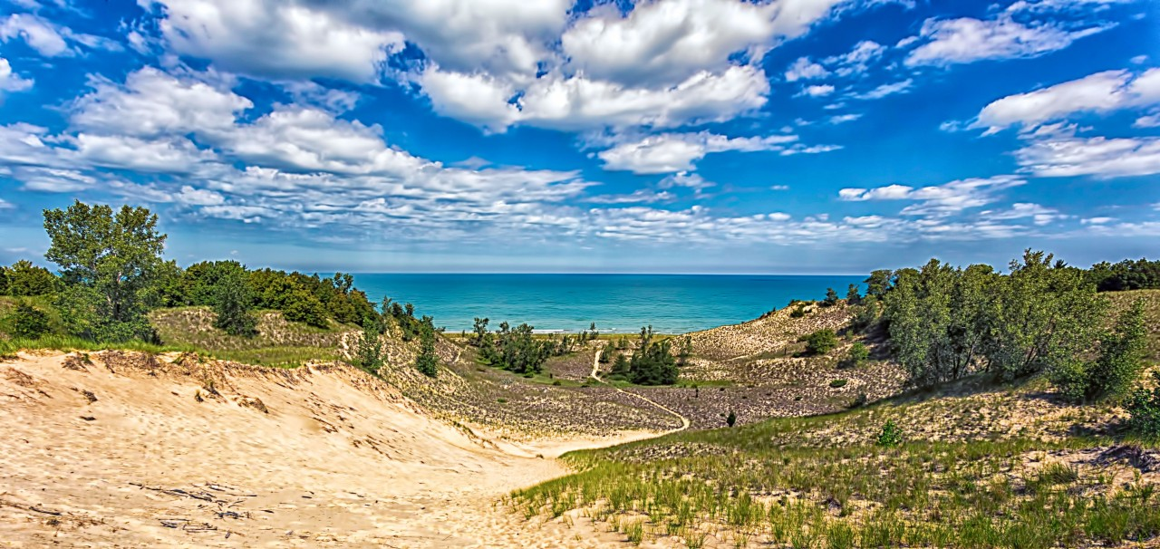 Blowout Trail to Lake Michigan