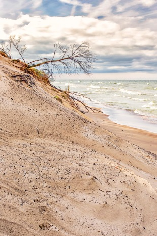 Central Beach in Beginning of November