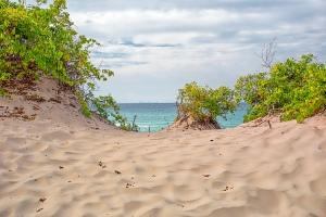 Dune Crest View Toward Chicago