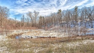 Dunes Creek Bend in February
