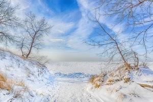 Lake View Following Freeze
