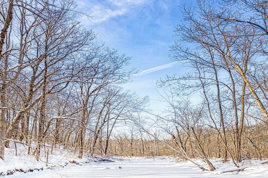Frozen River at Start of February