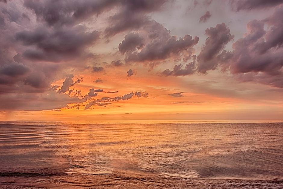 Lake Michigan Sunset in Early June
