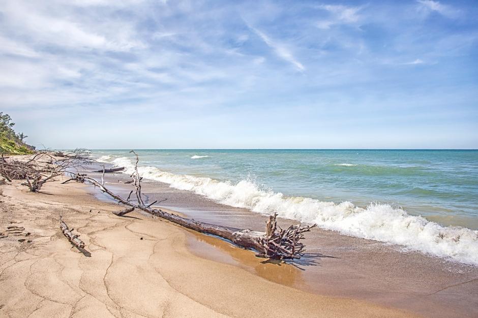 Mt. Baldy Beach at Beginning of September