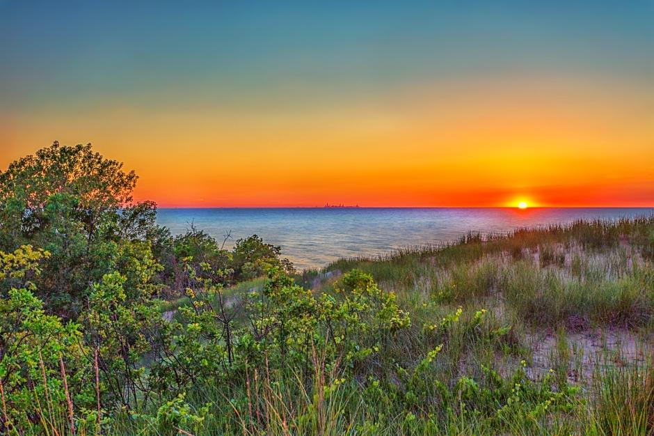 Mt Baldy Sunset