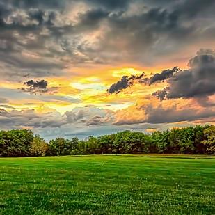 Opening Between Storm Clouds