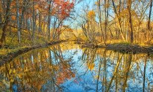River Bend in November Light