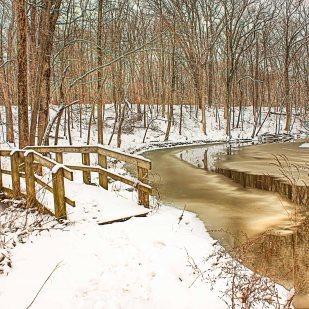 Riverside Trail in Winter