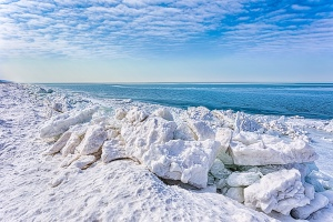Shoreline Shelf Ice