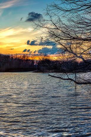 Sunset at Start of April