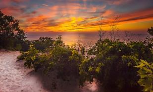 Sunset View from Dune Ridge