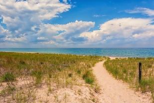 Trail Ten Toward Shore