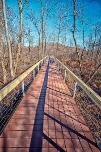 New Walkway Crossing Cowles Bog