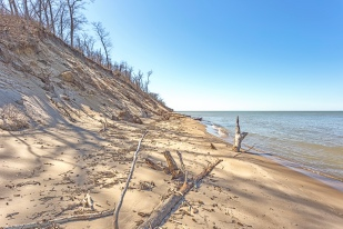 Erosion at Mt. Baldy Beach