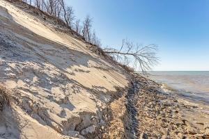 Central Beach Erosion