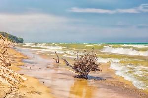 Surf After Summer Storm