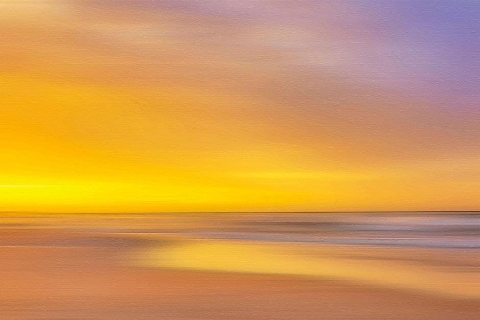Late Sun at Indiana Dunes