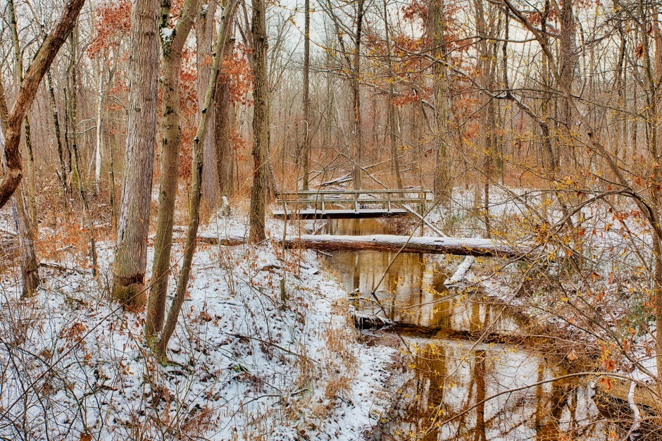 Trail Two Bridge in Mid-December