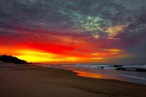 Sunset pano